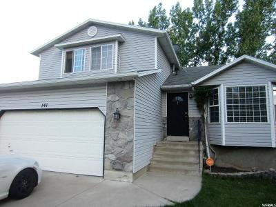 Layton Single Family Home For Sale: 141 W 1475 N