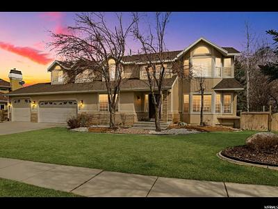 Cottonwood Heights Single Family Home For Sale: 6835 Vista Grande Dr