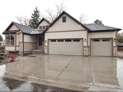Holladay Single Family Home For Sale: 6218 S Lindsay Ln #3
