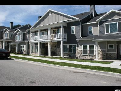 West Valley City Townhouse For Sale: 5631 W Island Ridge Dr S