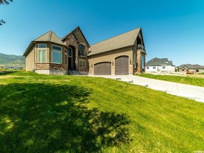Saratoga Springs Single Family Home For Sale: 2161 S Centennial Blvd E