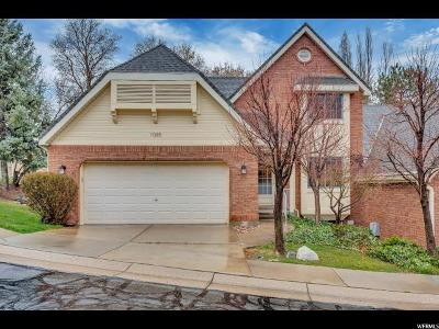Kaysville Townhouse For Sale: 1085 E Brook Haven Dr