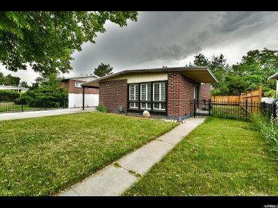 Salt Lake City Single Family Home For Sale: 1147 N Sonata St W