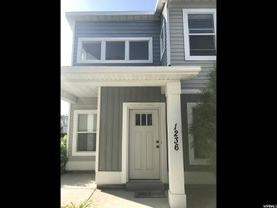 Nibley Townhouse For Sale: 1236 W 2432 S