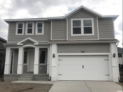 American Fork Single Family Home For Sale: 836 E 340 S