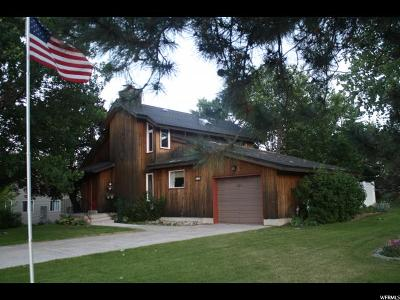 Wellsville Single Family Home For Sale: 190 W 500 N