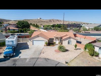 St. George Single Family Home For Sale: 3130 S Walnut Cir