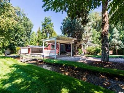Salt Lake City Single Family Home For Sale: 2222 E Walker Ln S