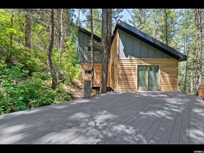 Salt Lake City Single Family Home For Sale: 9726 E Lamb Cyn S