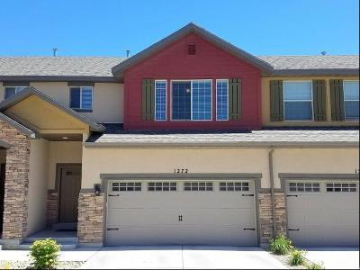 Saratoga Springs Townhouse For Sale: 1272 N Willowbrook W