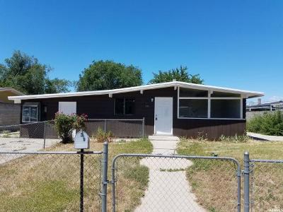 Single Family Home For Sale: 555 N 980 W