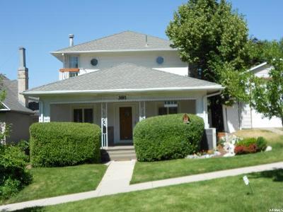 Salt Lake City Single Family Home For Sale: 381 N L St #15