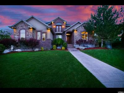 Bluffdale Single Family Home For Sale: 15606 S Thunder Gulch