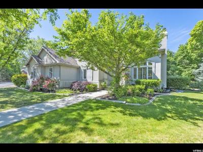 Cottonwood Heights Single Family Home For Sale: 7968 S Willow Cir