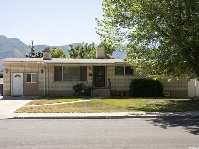 Orem Single Family Home For Sale: 213 Ellis Dr