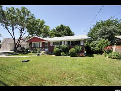 Murray Single Family Home For Sale: 6066 S 700 W