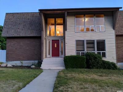 Orem Single Family Home For Sale: 285 W 1800 S
