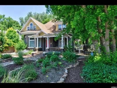 Salt Lake City Single Family Home For Sale: 1417 S West Temple W