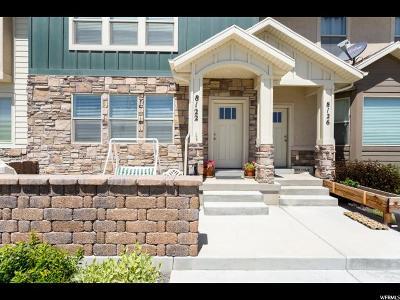 Eagle Mountain Townhouse For Sale: 8122 N Rock Creek Cove Ln W