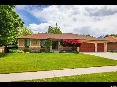 Sandy Single Family Home For Sale: 8917 S Sunridge Dr E