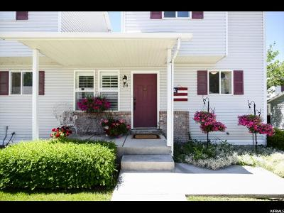 Stansbury Park Townhouse For Sale: 26 Millpond #26