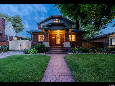 Salt Lake City UT Single Family Home For Sale: $630,000