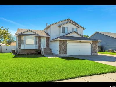 Taylorsville Single Family Home For Sale: 4755 S 2980 W