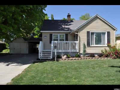 Single Family Home Under Contract: 359 E 100 N