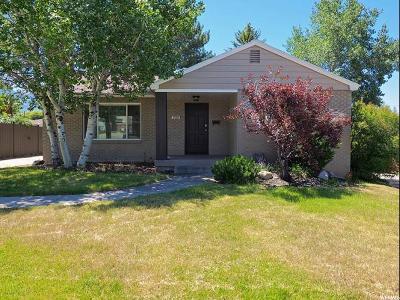 Salt Lake City Single Family Home For Sale: 2500 E 1700 S