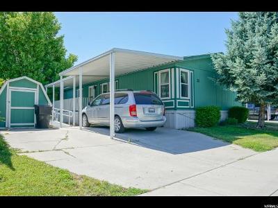 Springville Single Family Home For Sale: 1025 N 300 W #21