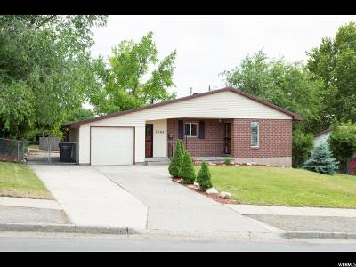 Holladay Single Family Home For Sale: 3004 E 4430 S