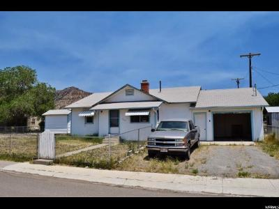 East Carbon Single Family Home For Sale: 209 Rawlins