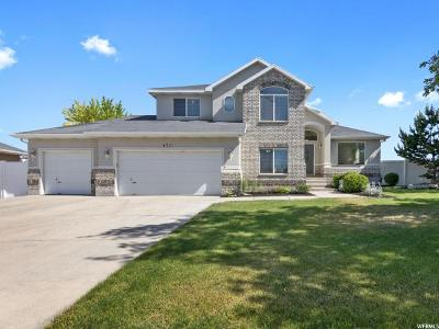 West Jordan Single Family Home For Sale: 4791 W Harkness Dr