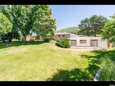 Layton Single Family Home For Sale: 3120 E 1850 N