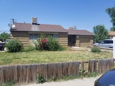 Salt Lake City Single Family Home For Sale: 4190 W 5500 S
