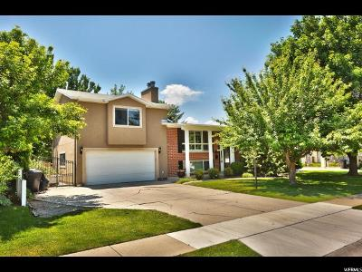 Salt Lake City Single Family Home For Sale: 5484 S Dunbarton Dr