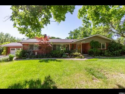 Cottonwood Heights Single Family Home For Sale: 7580 S Michelle Way E