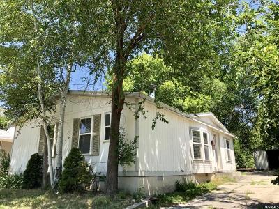 Salt Lake City Single Family Home For Sale: 2623 S 600 E