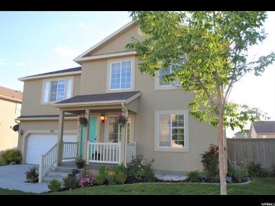 Eagle Mountain Single Family Home For Sale: 7857 N Cedar Crest Dr