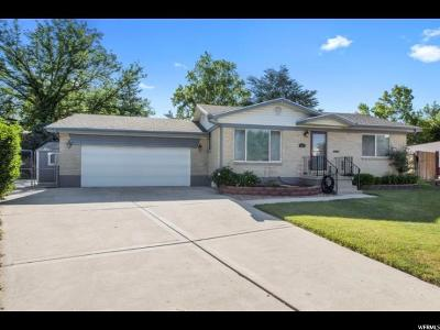 Salt Lake City Single Family Home For Sale: 972 E Charlton Cir