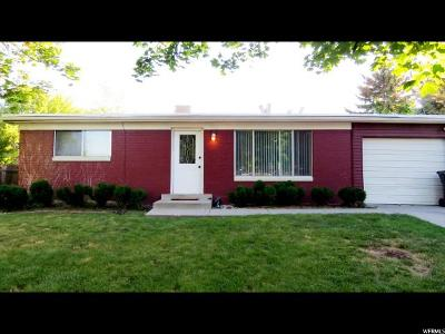 Taylorsville Single Family Home For Sale: 4776 S Meadow Wood Way