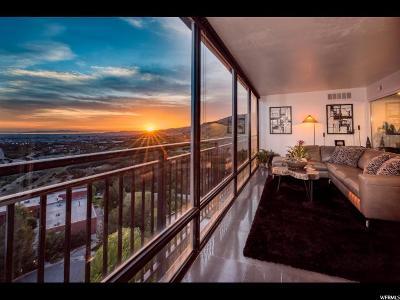 Salt Lake City Condo For Sale: 875 S Donner Way Ph-1501