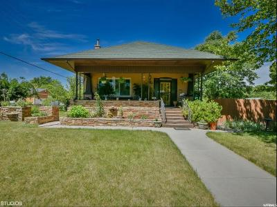 Salt Lake City Single Family Home For Sale: 1576 S 600 E