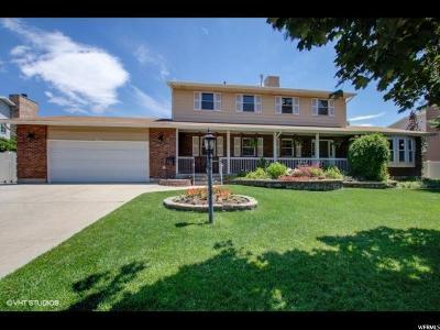 Sandy Single Family Home For Sale: 11643 S Player Cir E