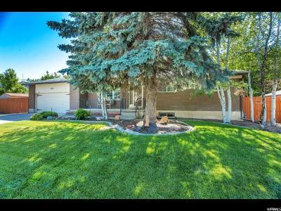 Taylorsville Single Family Home For Sale: 5512 S Bastile