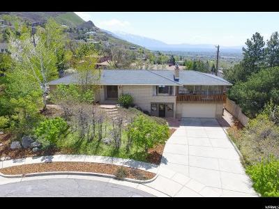 Salt Lake City Single Family Home For Sale: 2680 E Roxbury Cir S