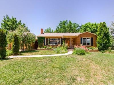 Salt Lake City Single Family Home For Sale: 1388 E Luck Spring Dr
