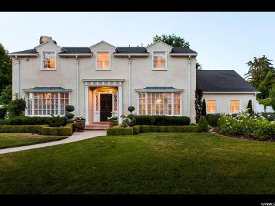 Salt Lake City Single Family Home For Sale: 2005 E Herbert Ave