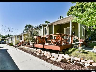 Salt Lake City Multi Family Home For Sale: 173 N H E