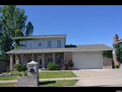 Layton Single Family Home For Sale: 2614 E 3650 N
